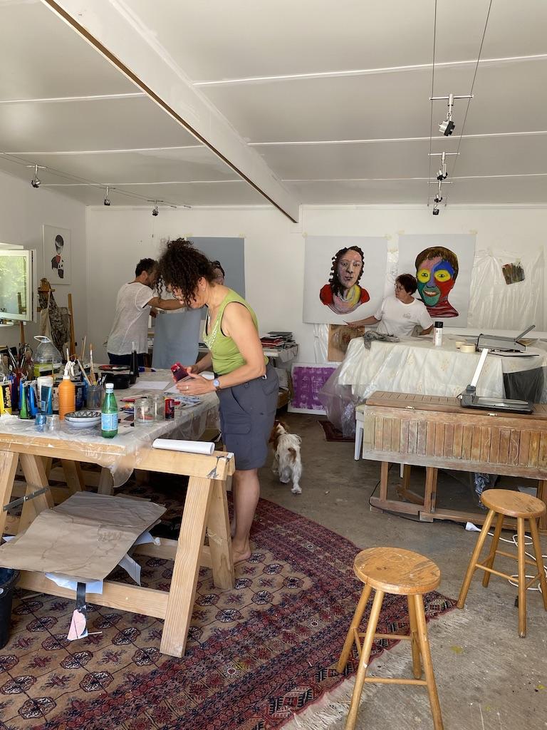 Stage de peinture & dessin animé par Manu Perez - LA POCHE lieu d'art 2020
