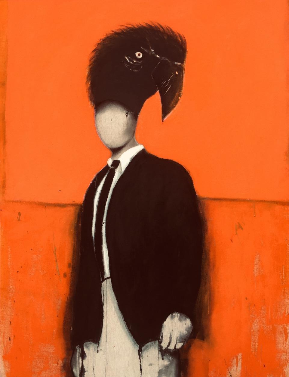 L'homme perroquet © Manu Perez