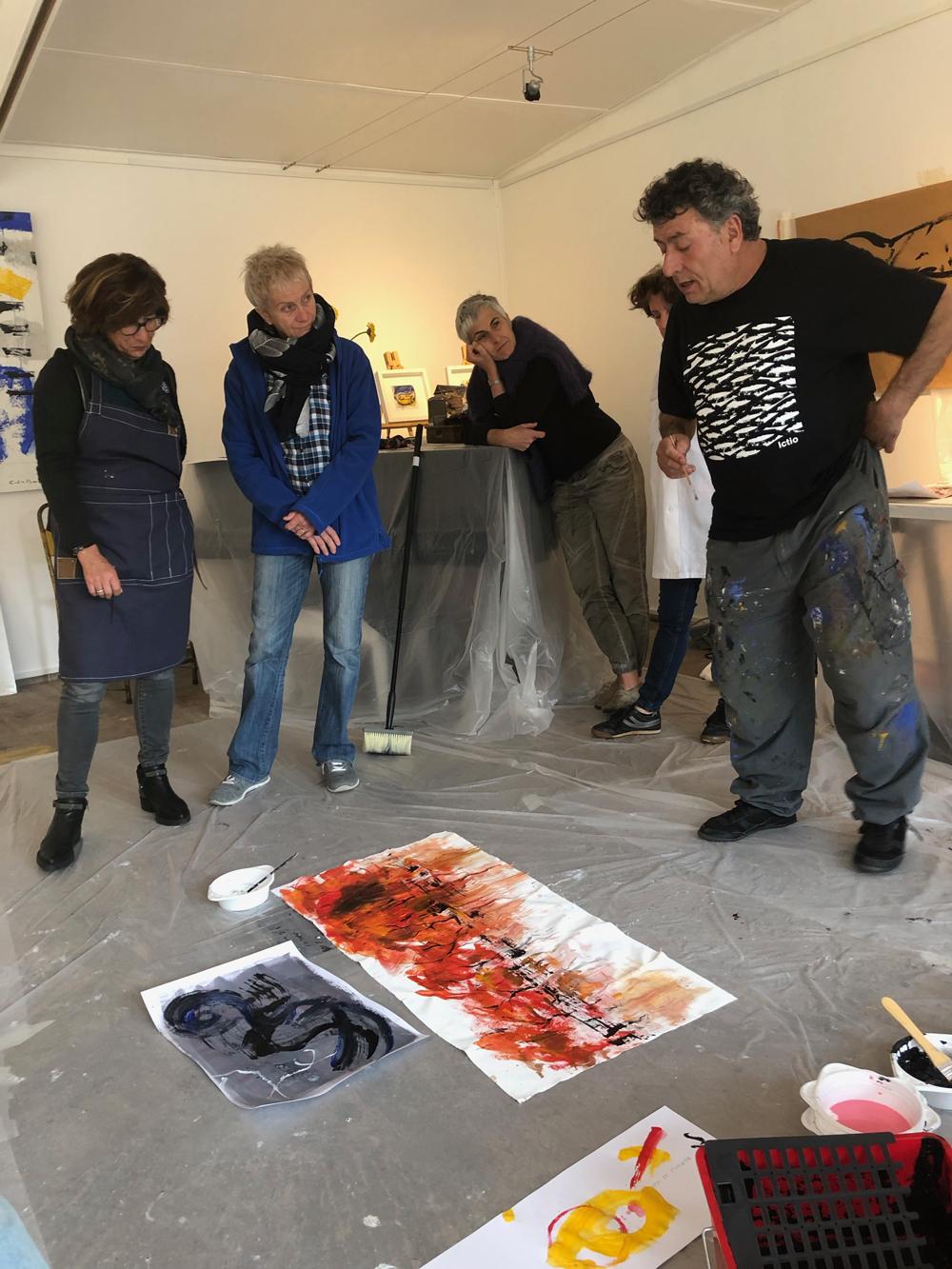 Atelier de peinture - Carles Bros