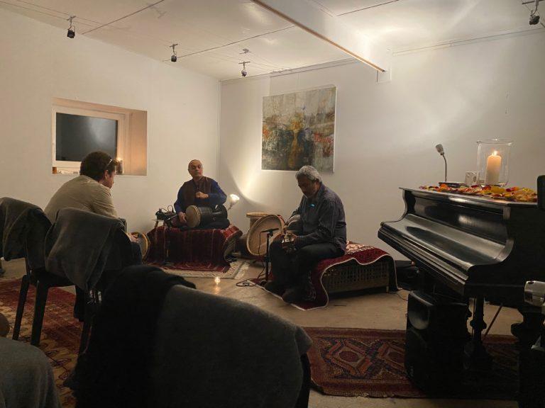 Concert ZAREBAN Musique savante persane - Madjid Khaladj et Shermin Movaffaghi - septembre 2021